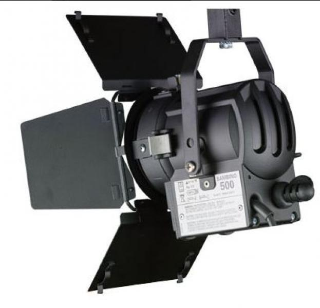 ILLUMINATORE FRESNEL QUARTZ COLOR 300/500W